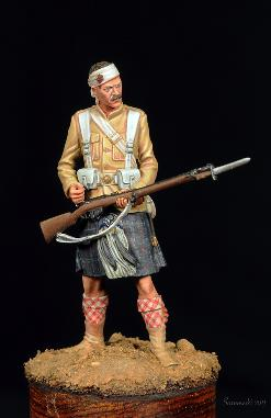 Seaforth Highlander M Stevens