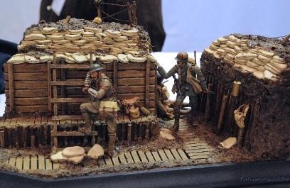 WWI Trench Scene - Gary Rasmussen