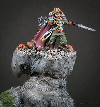 Imperial Guard John Bowery Fantasy Painters Silver