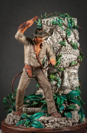 Indiana Jones Bill Silk Fantasy Open Silver