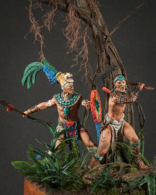 Mayan Warrior Jesus Gamarra