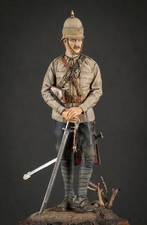 Officer 10th Hussars 1878 Jim Lyne Painters Silver