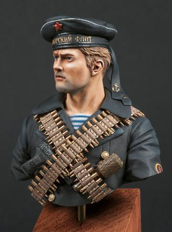 Russian Naval Infantryman Bob Sarnowski