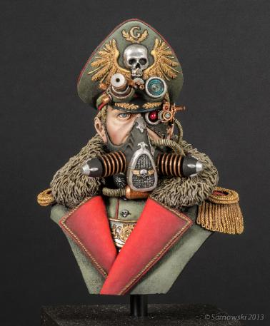 Imperial Guard Commissar Jason Green
