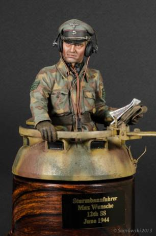Panzer Commander Matt Wellhouser