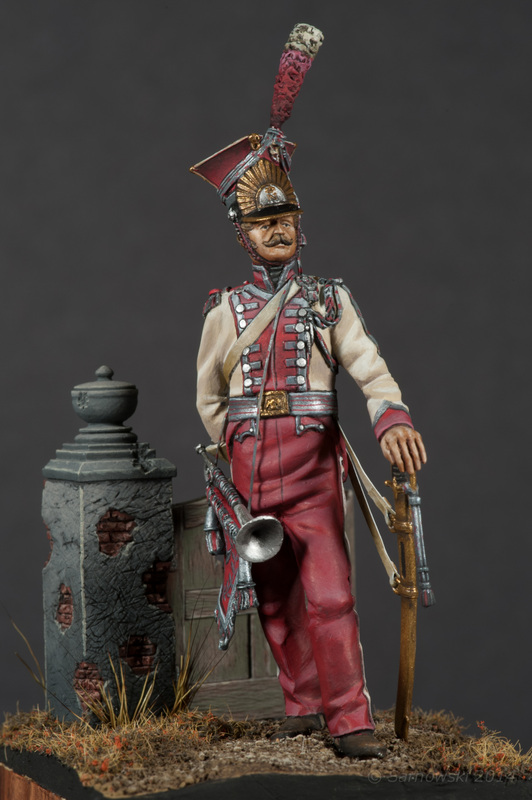 Trumpeter Polish Lancers Stephen Mallia