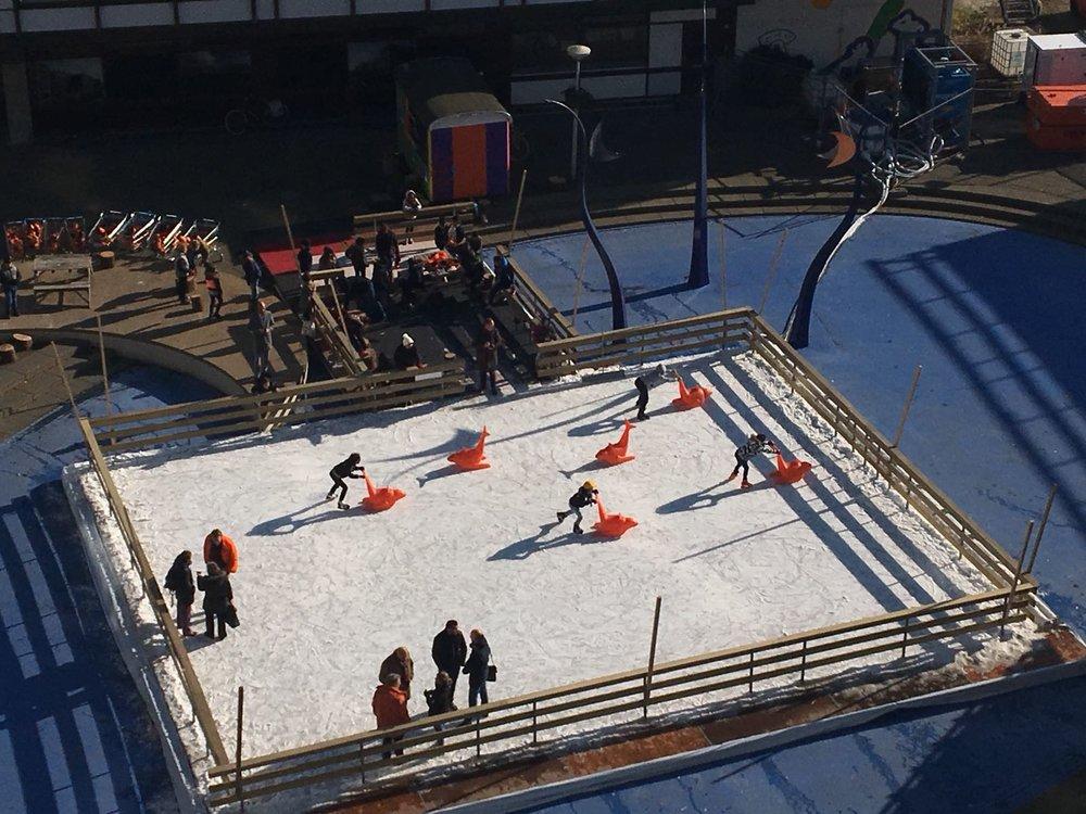Ice Skating, Delflandplein