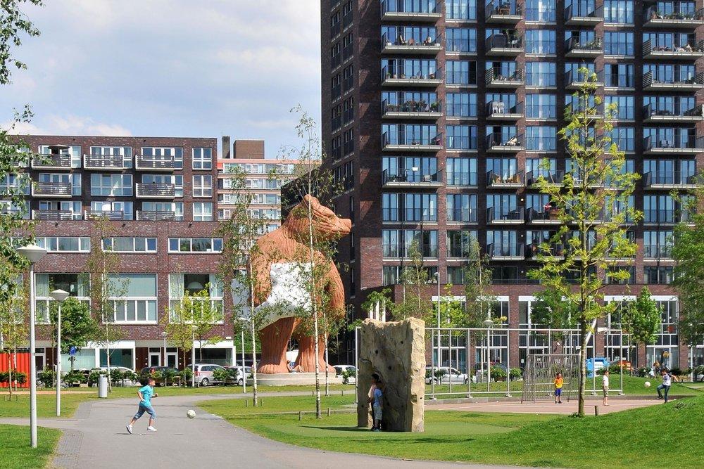 Delflandplein en Staalmanplein, Amsterdam