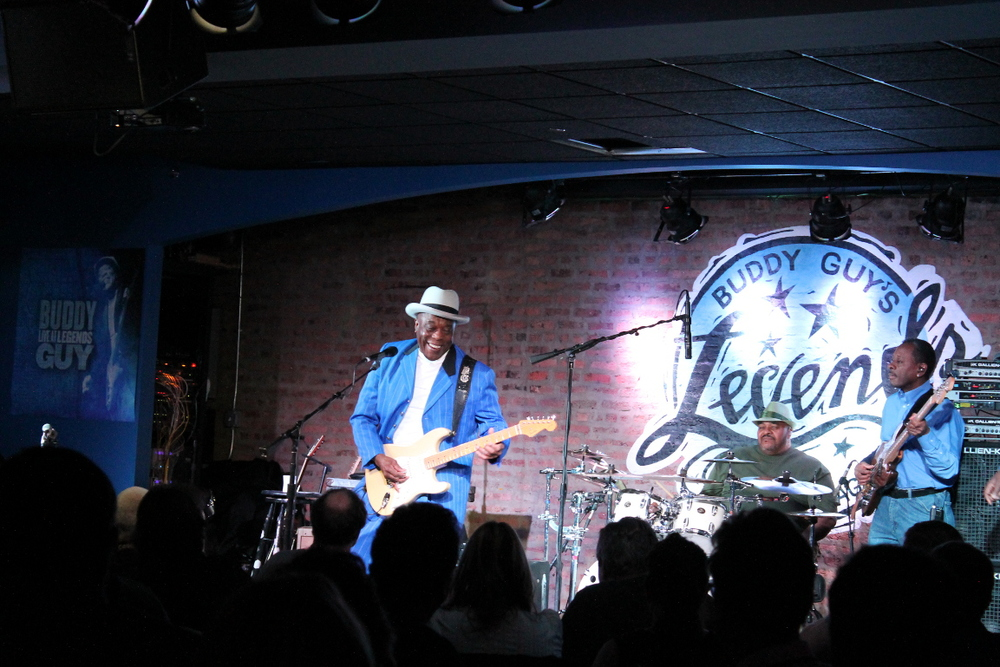 At Buddy Guy's Legends