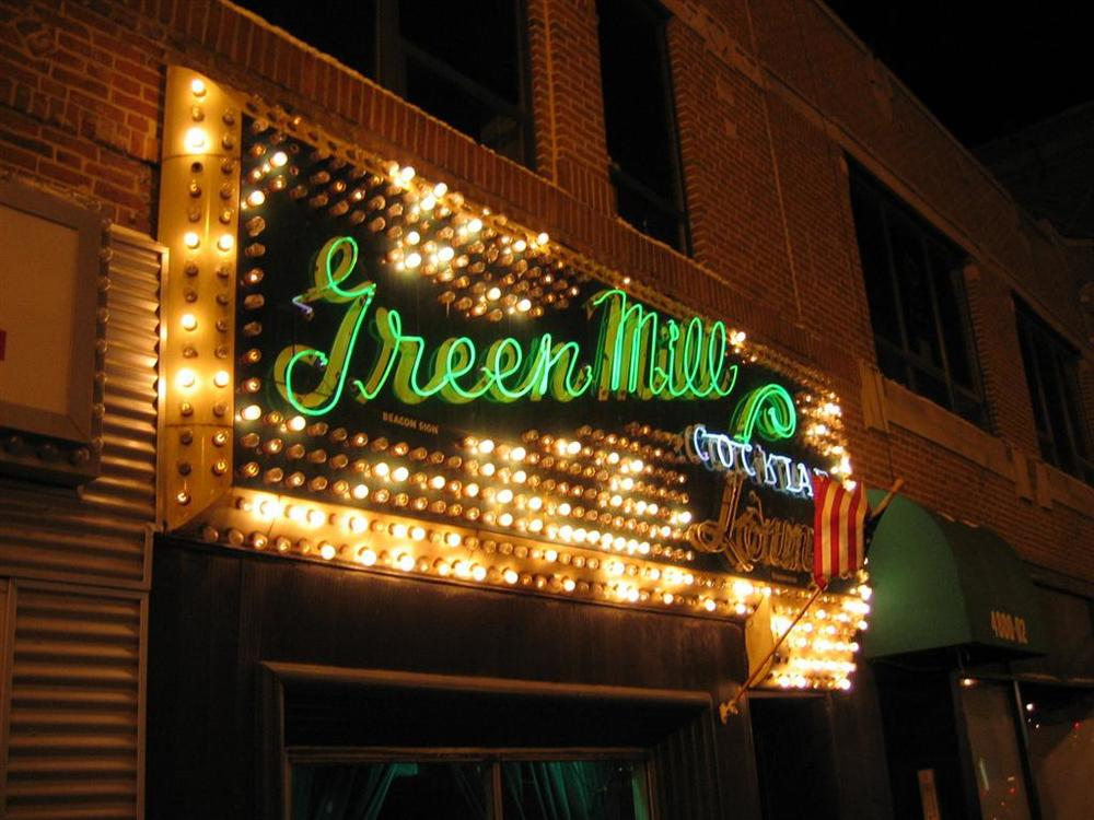 The Green Mill Jazz Lounge in Uptown