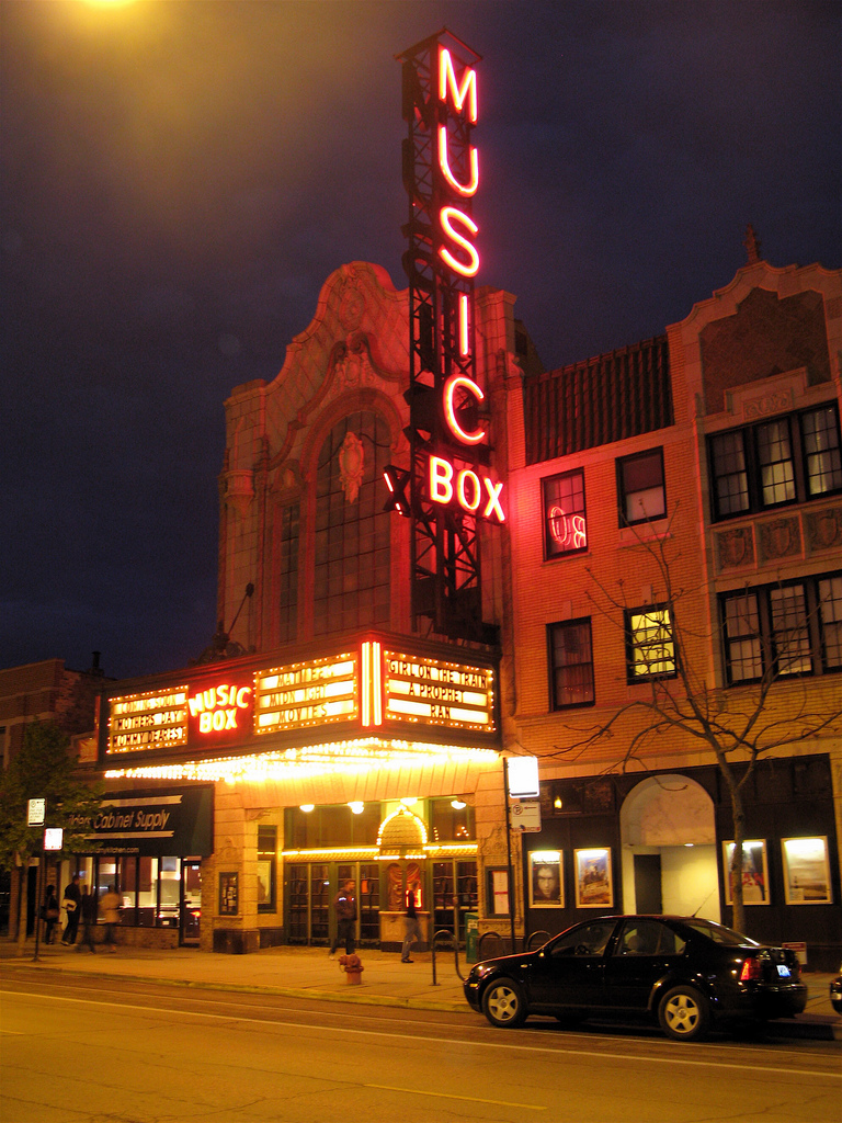 The Music Box Theater in Lakeview