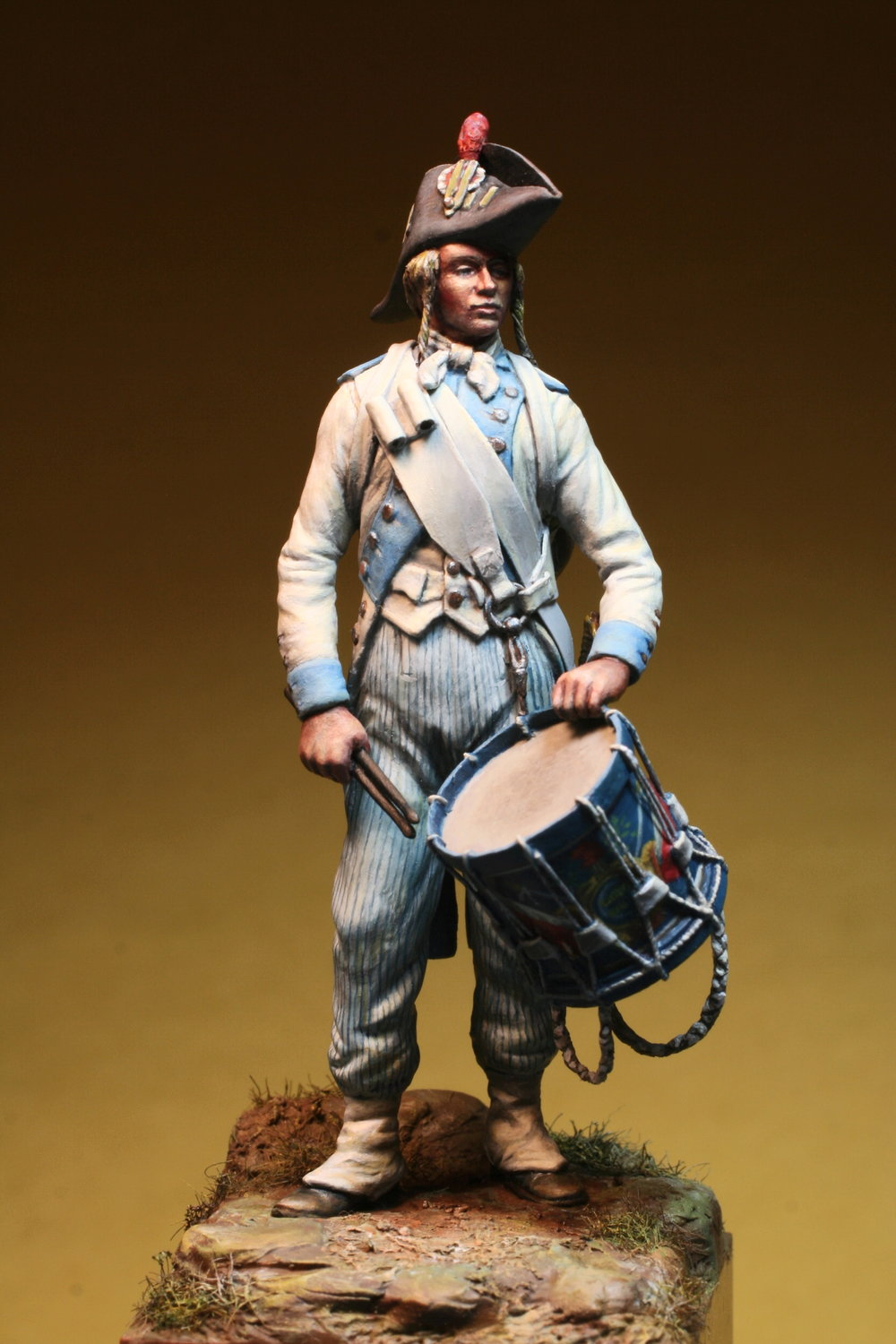 French 2nd Line Infantry Drummer 1793, by Greg DiFranco.