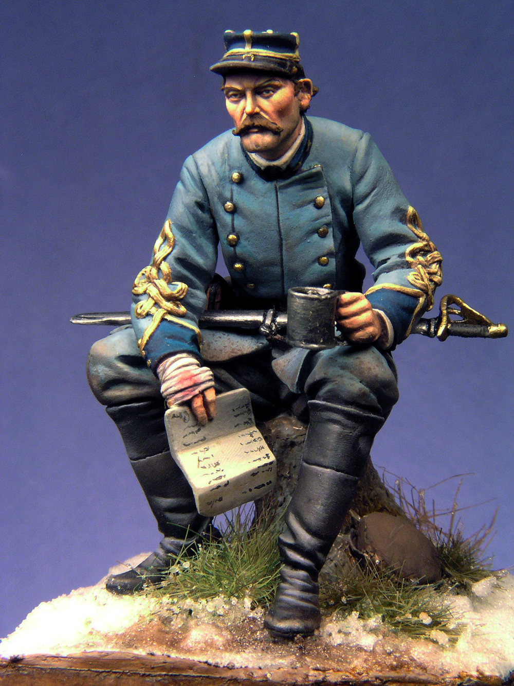 American Civil War major by Julio Cabos