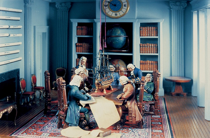 The Meeting of the Admiralty Board (1979, 54mm)