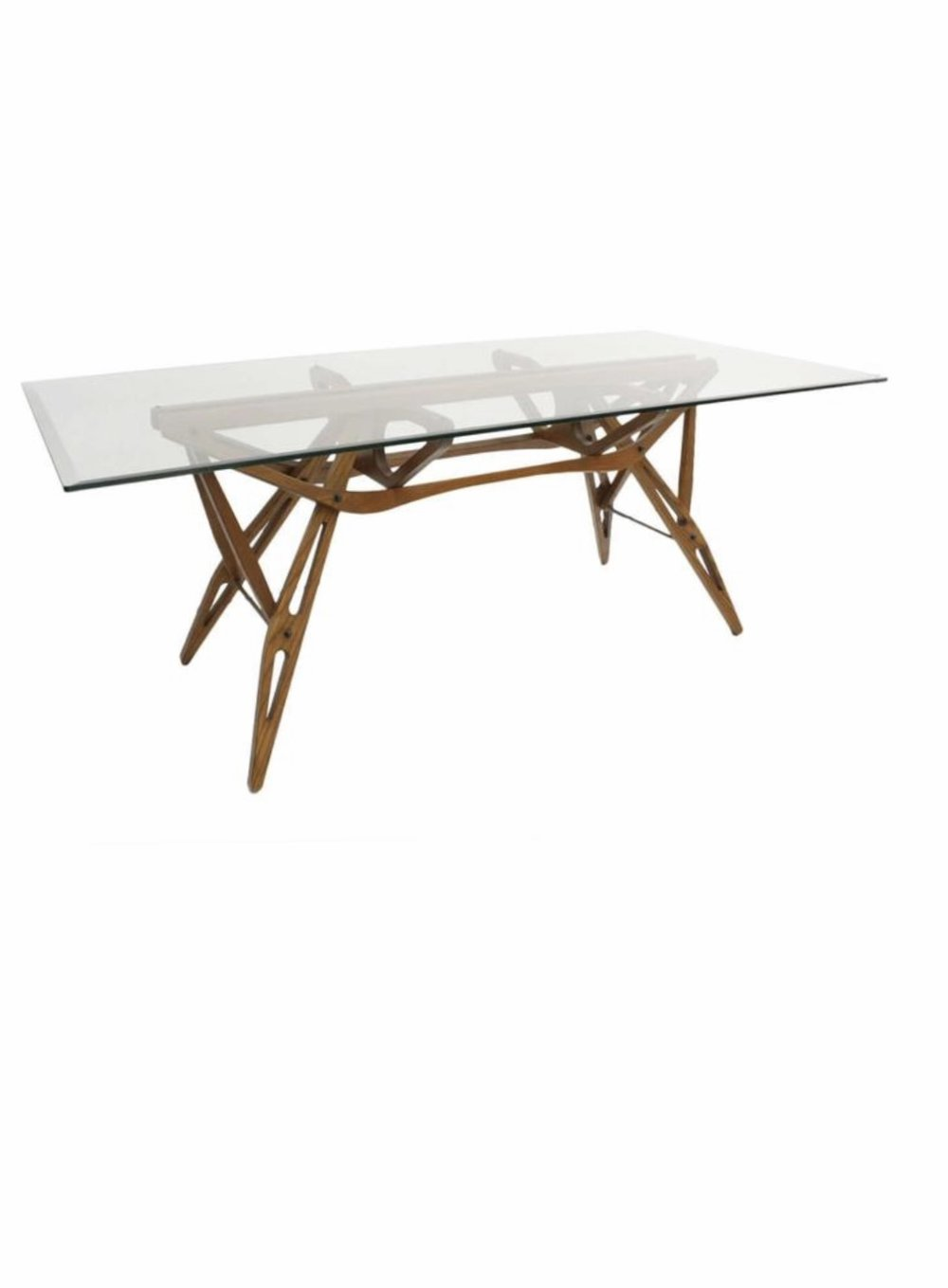Sold zanotta carlo molino reale table rkade for Table 6 in as 3725