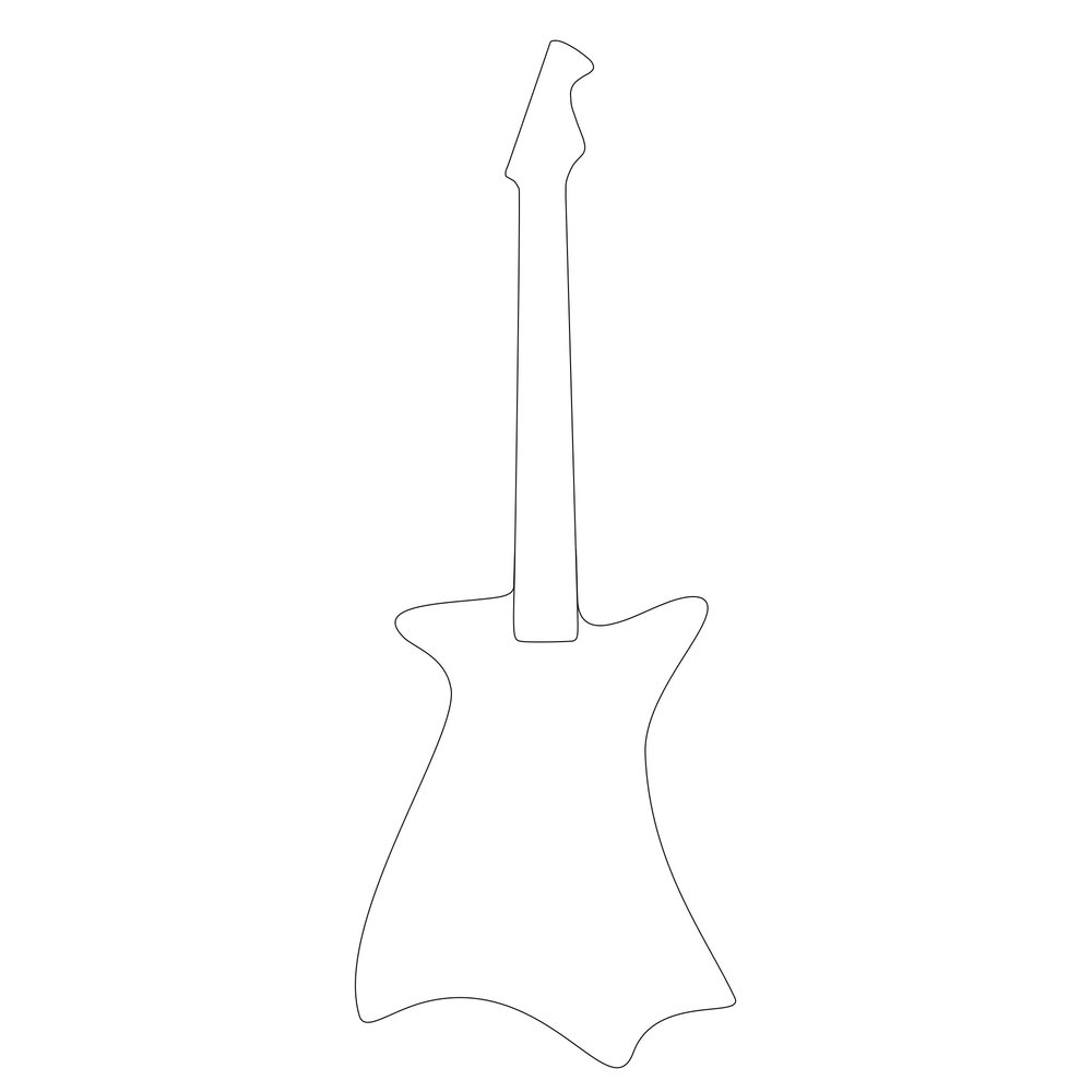 Rascal Guitar - Wraith with Neck