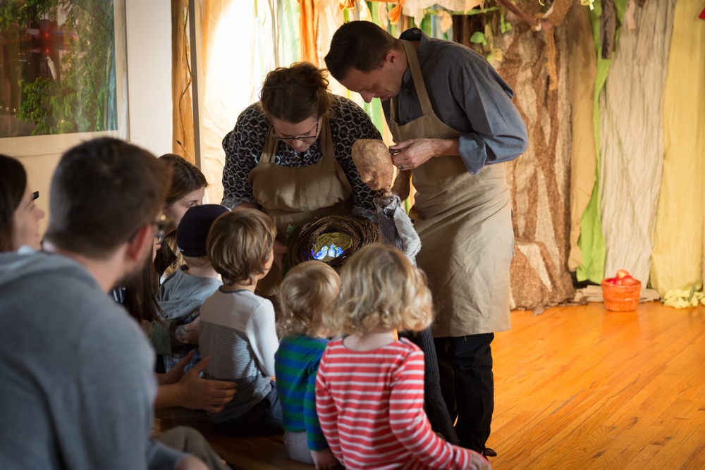 """Spellbound Theatre Presents """"Nests"""" - A Free Family Workshop Experience"""