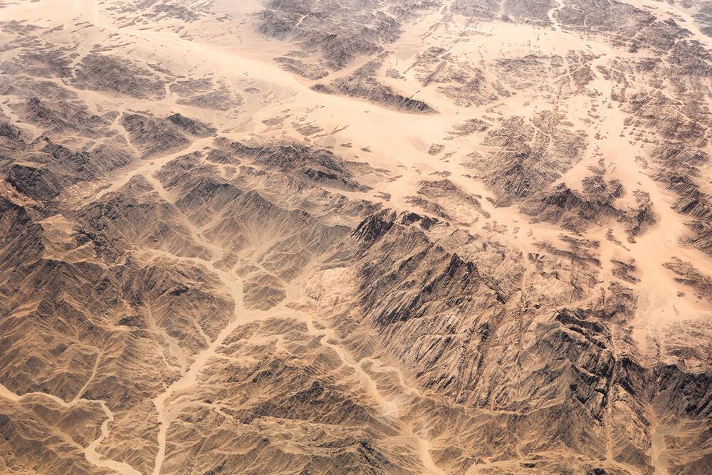 Deserts - Survey #5, 2015 //  80 cm x 120 cm