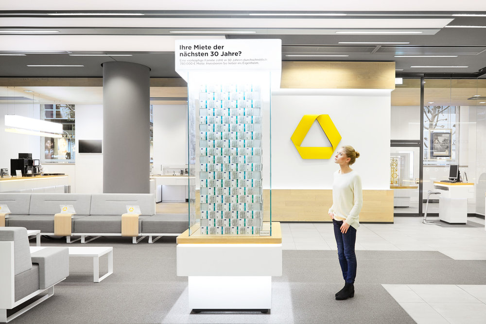 Commerzbank - Installations.