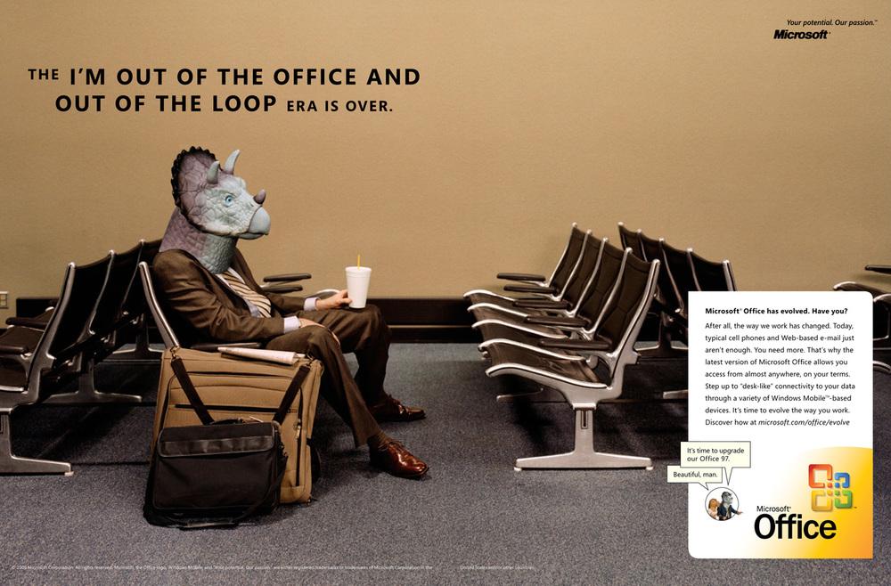 Microsoft Office, McCann Erickson SF
