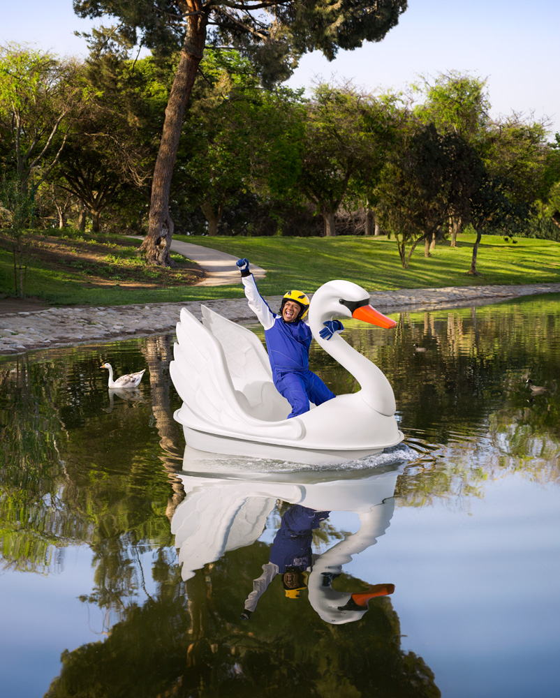 Badass Swanboat