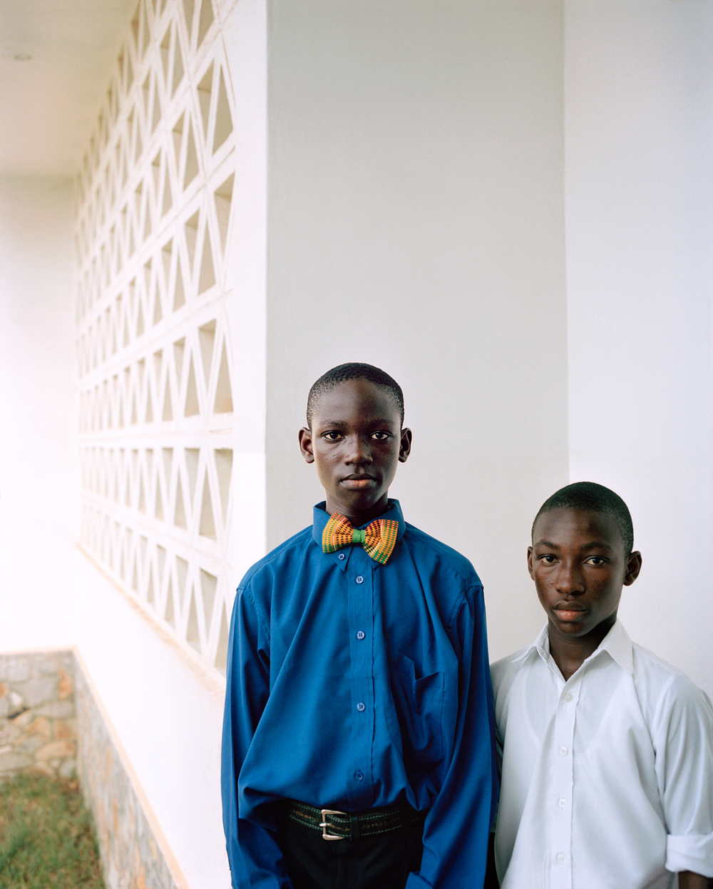 Wedding Boys, Ghana  The  HP Library  are photographs taken for a Hewlett Packard photo library in Canada (Ontario), the United States (California), Morocco and Ghana. 1999-2001