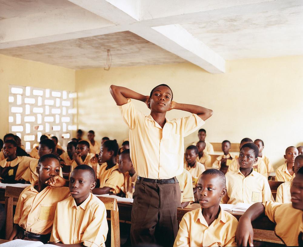 Classroom, Ghana