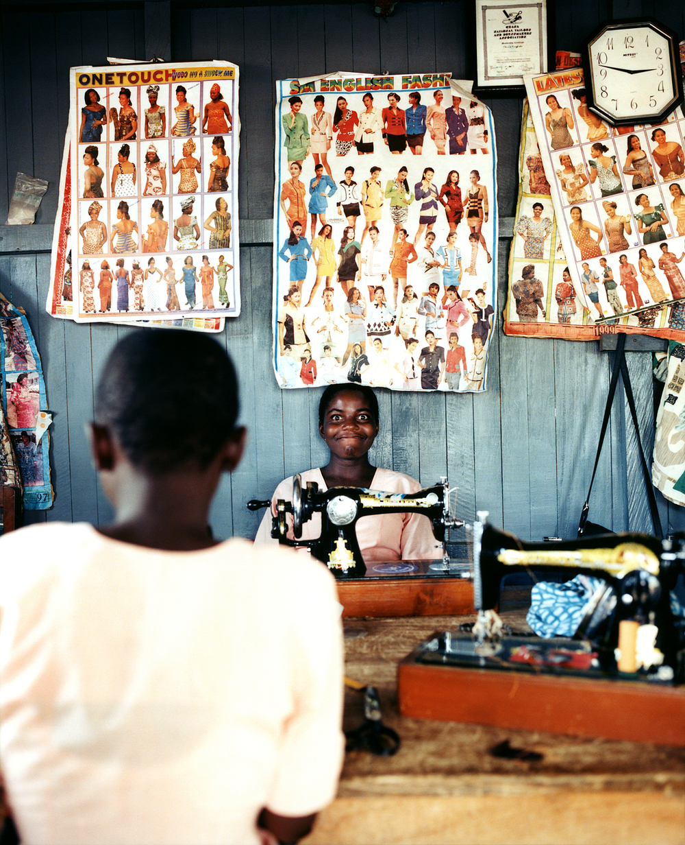 Sewing Shop, Ghana