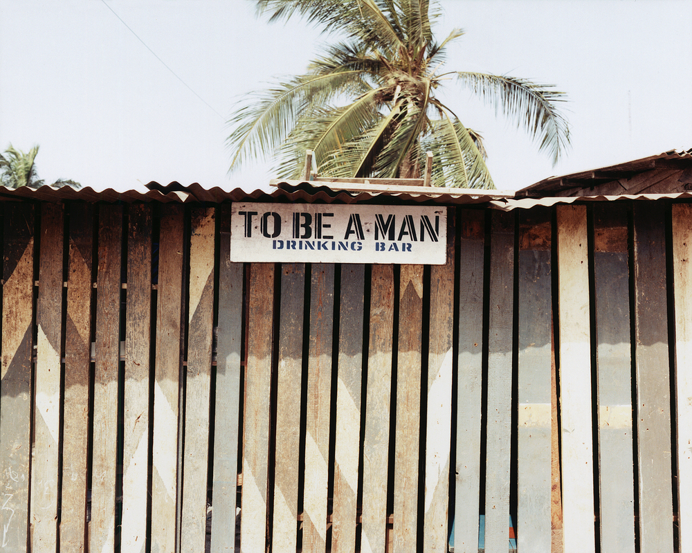 To Be A Man Drinking Bar, Ghana