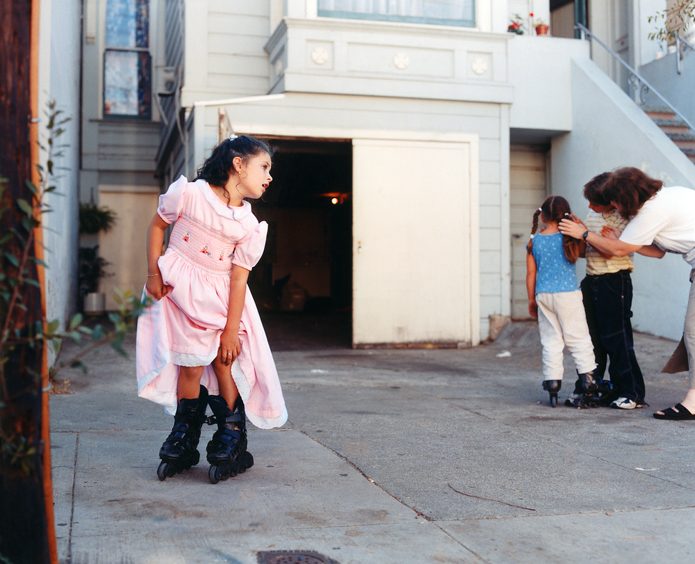 Rollerblade Girl, San Francisco