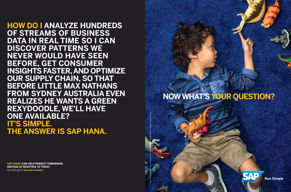 SAP Hana, Advertising