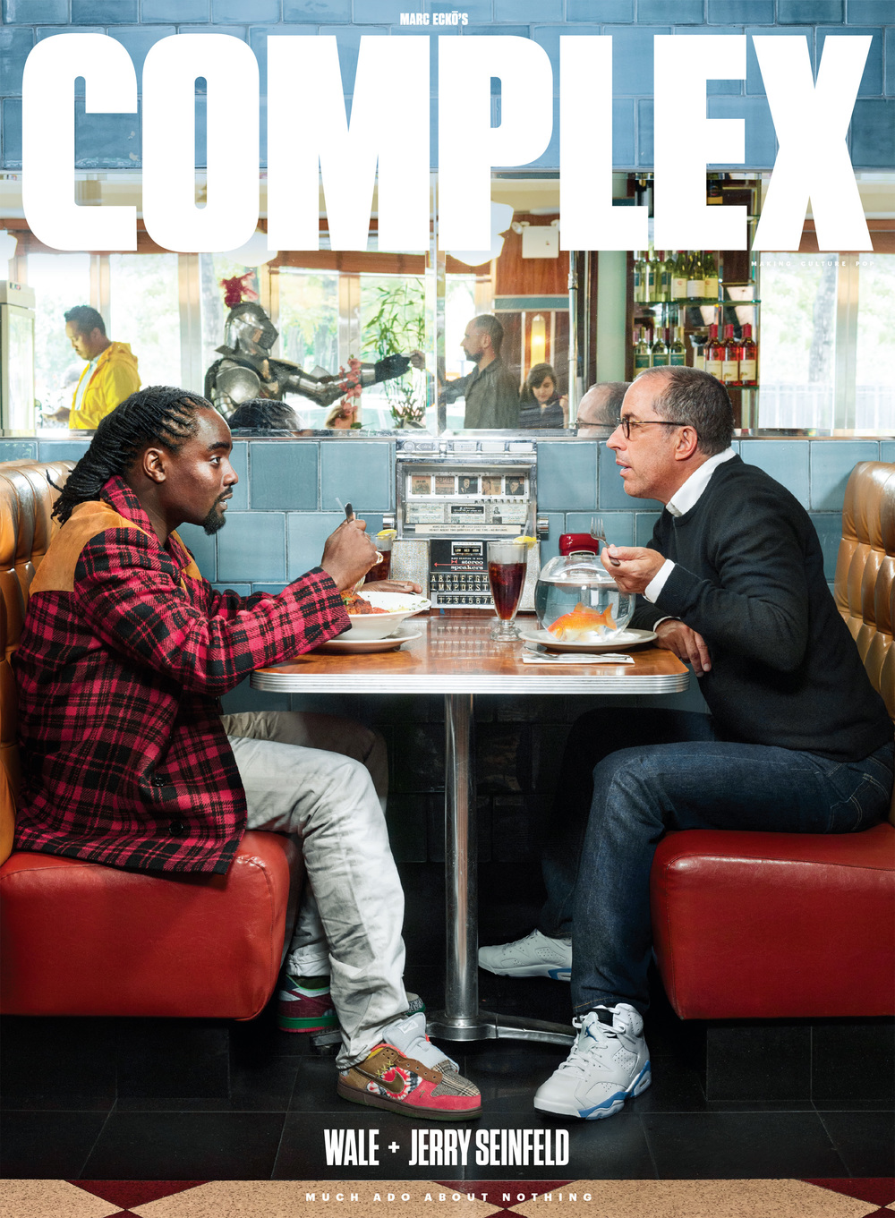 Wale & Jerry Seinfeld,  Complex