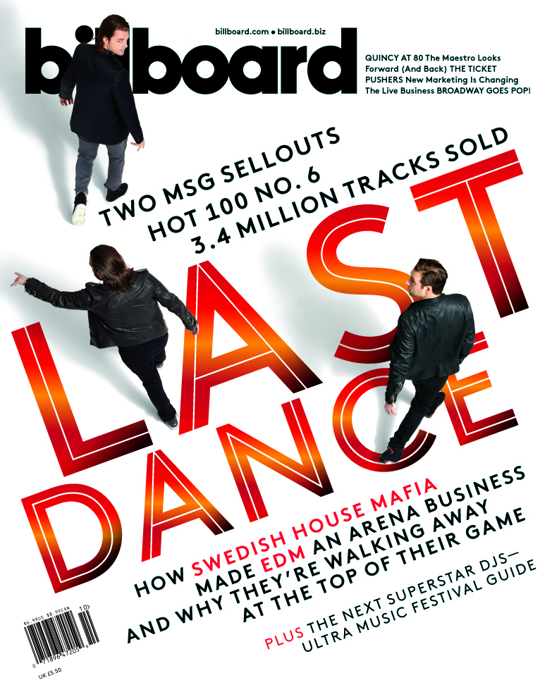 Swedish House Mafia,  Billboard