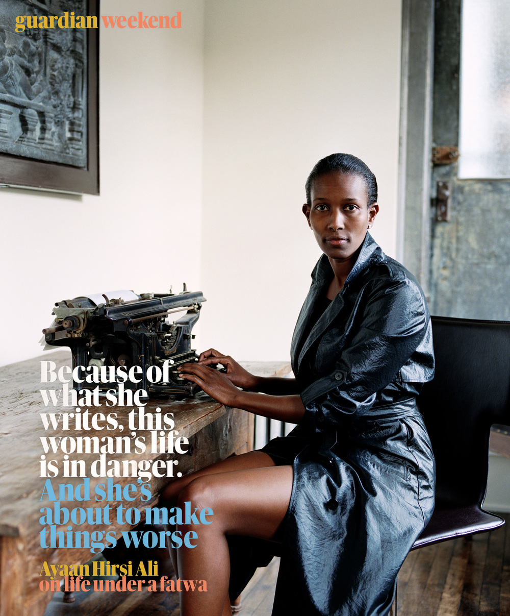 Ayaan Hirsi Ali,  Guardian Weekend
