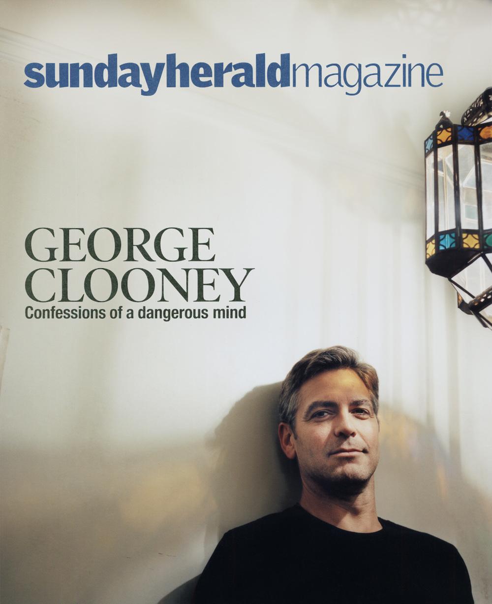 George Clooney,  Sunday Herald