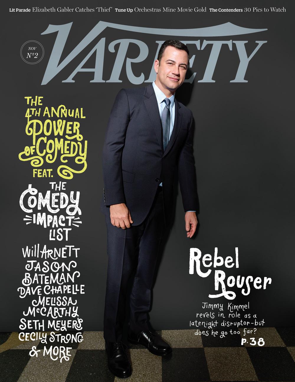 Jimmy Kimmel,  Variety