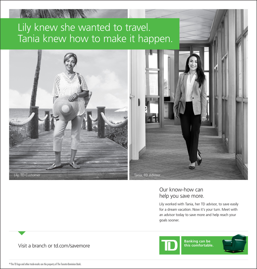 TD Bank, Advertising