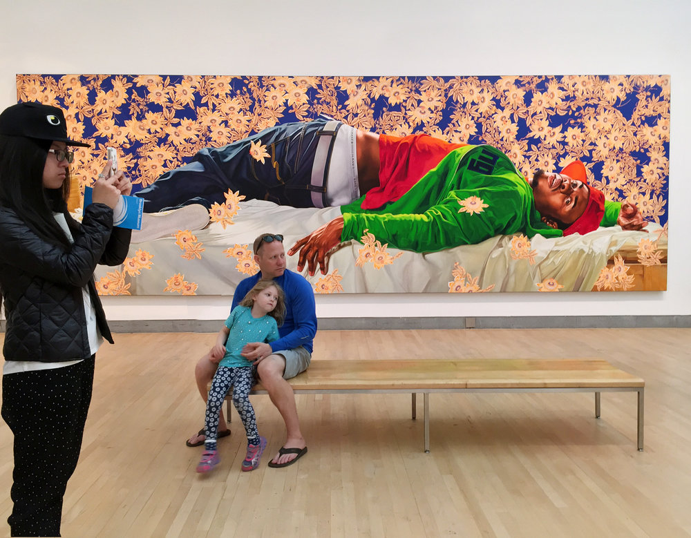Kehinde Wiley Exhibition, Snaps
