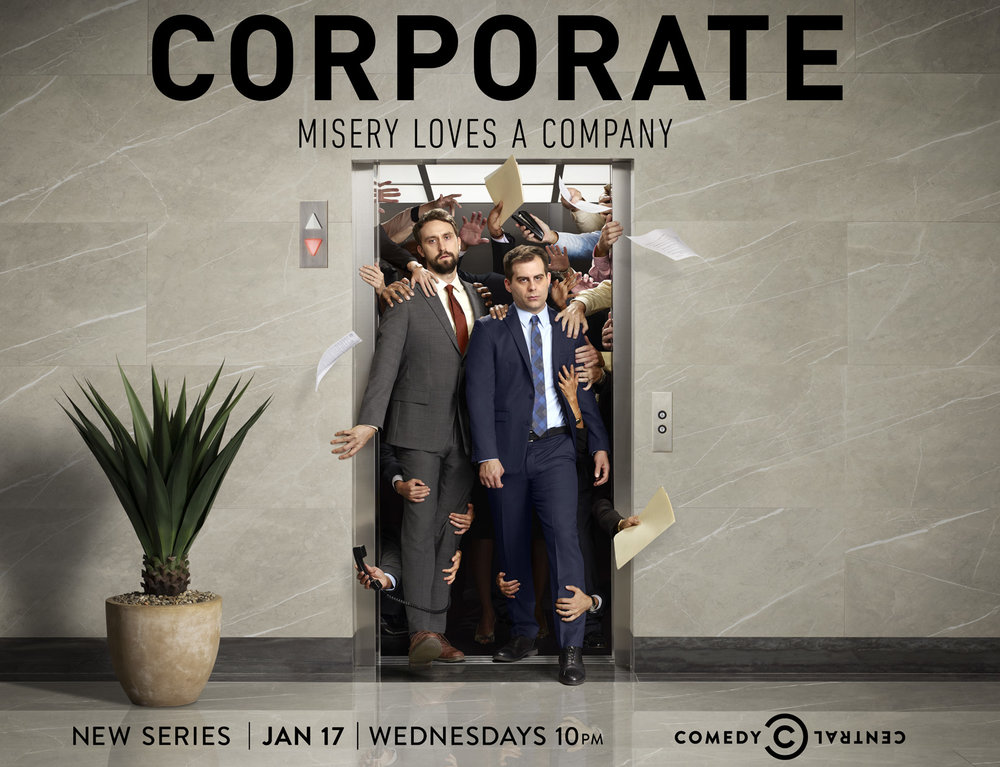 Corporate, Season One, Comedy Central