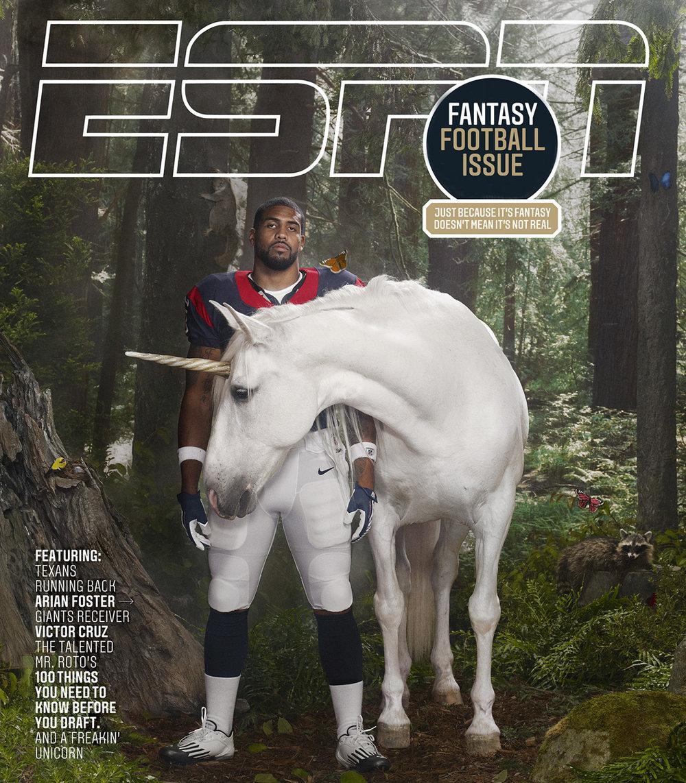Arian Foster & Fantasy Football,  ESPN