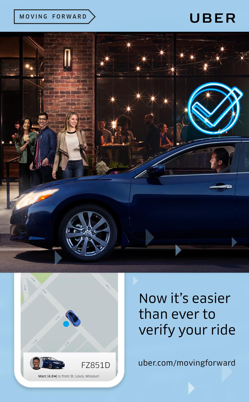 Uber, Advertising
