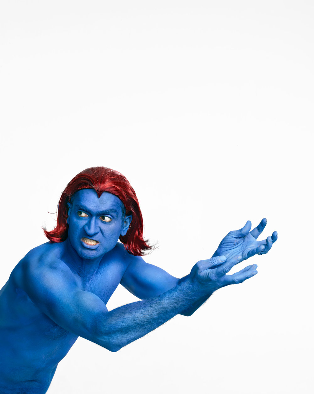 "Kumail Nanjiani, as ""Mystique"""