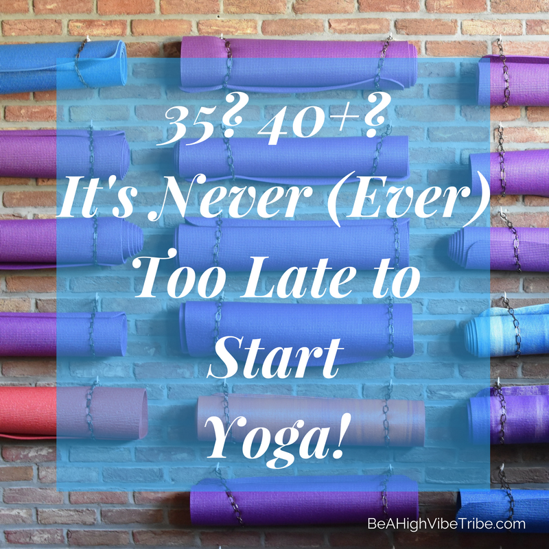 Begin a yoga practice at any age