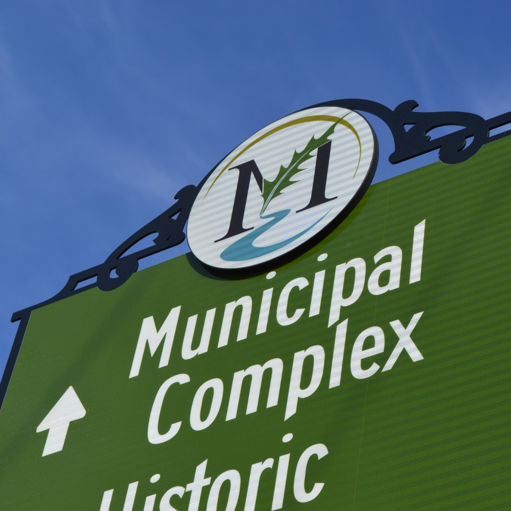 Branding & Wayfinding Signage design for Mount Holly, NC.