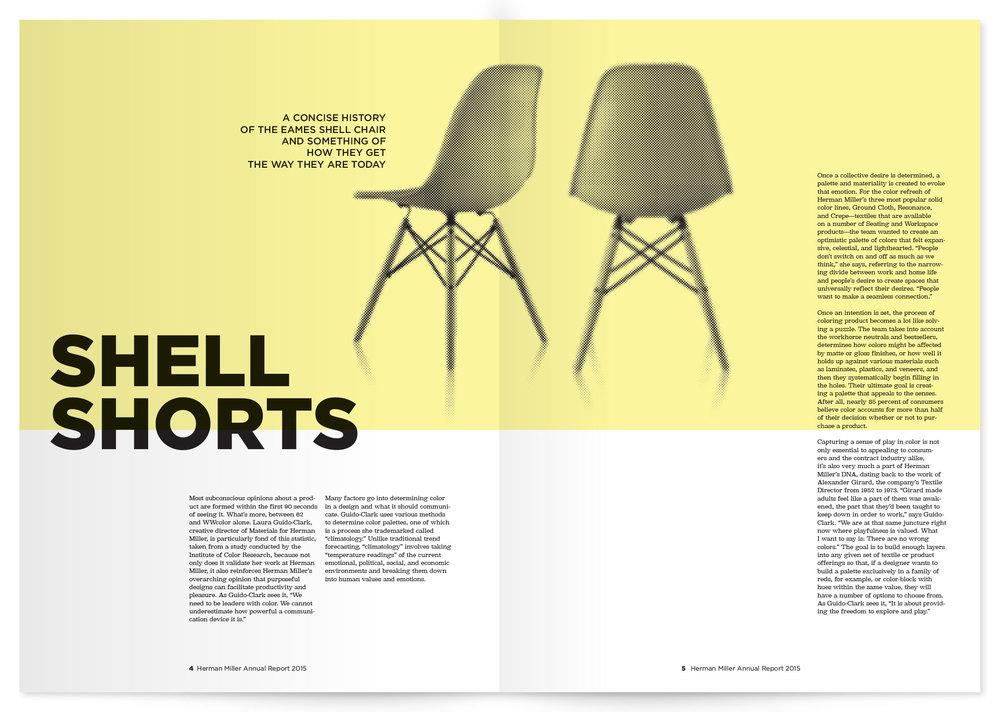 annual report interior spread