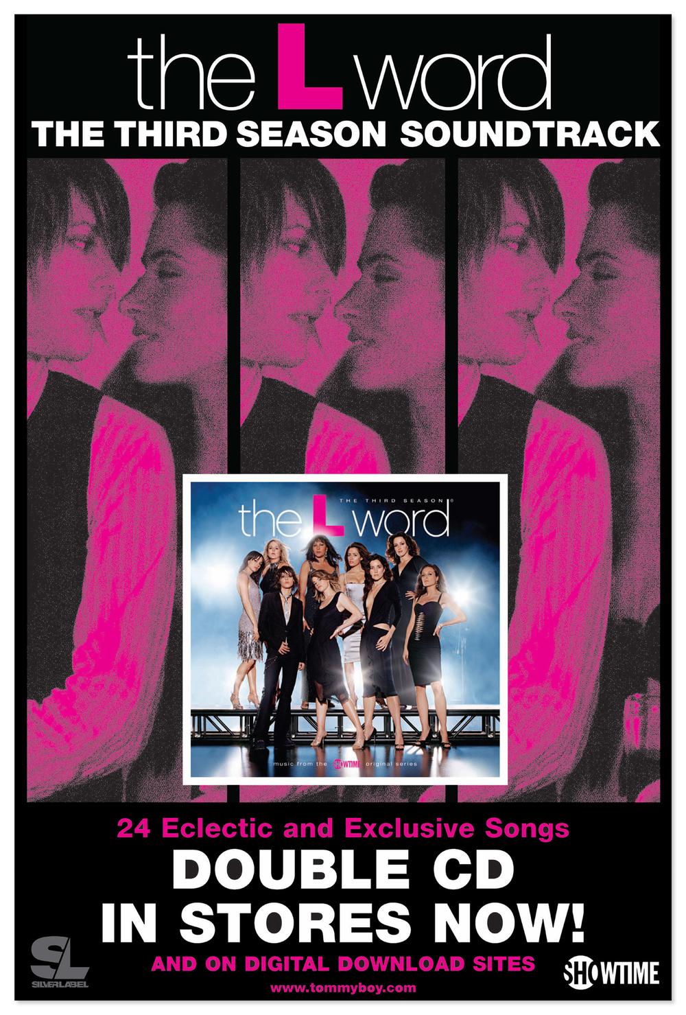 The L Word Season 3 soundtrack album poster