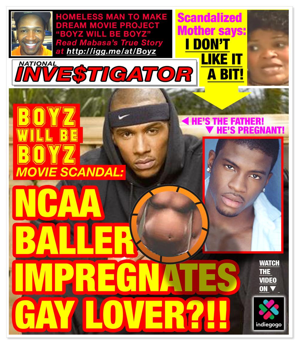 fake tabloid cover
