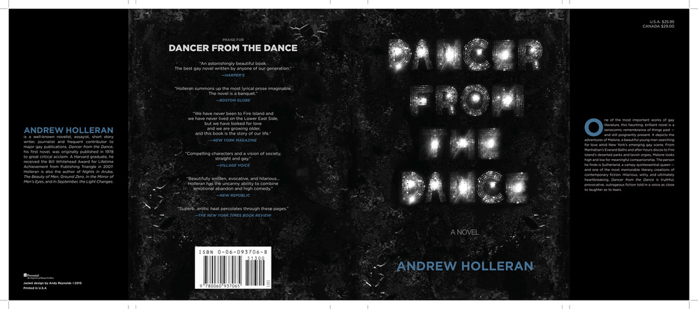 Dancer from the Dance by Andrew Holleran (Denim Version)