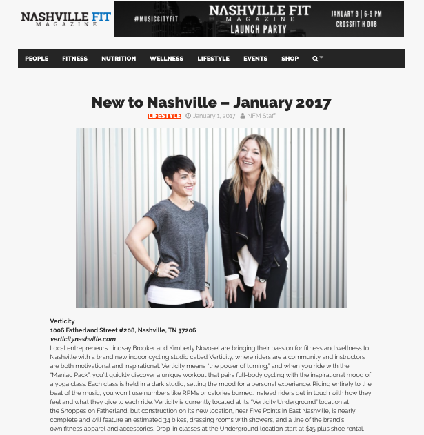 Nashville Fit Magazine