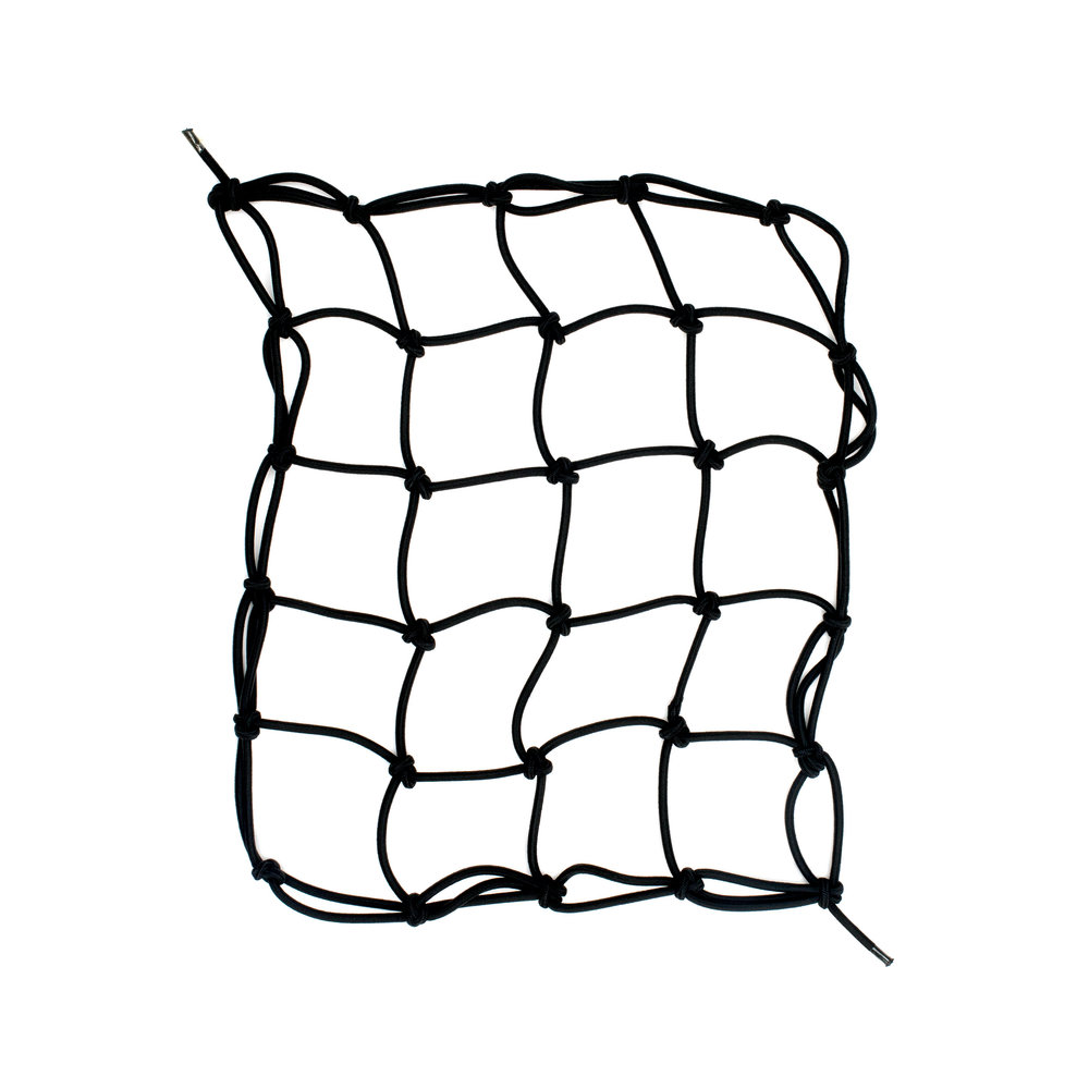 Cargo Net   Bungee net stretches across the UFO to secure belongings Excellent for wetsuits, towels and other bulky items Easily installs by clipping into perimeter hooks  p/n UF210